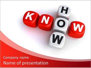Шаблон презентации PowerPoint: Знание