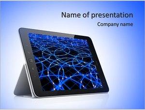 Шаблон презентации PowerPoint: Планшет