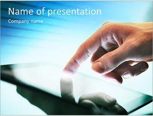 Шаблон презентации PowerPoint: Смартфон фаблет
