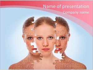 Шаблон презентации PowerPoint: Лечение и уход за кожей