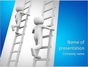 Шаблон презентации PowerPoint: Конкуренция и рост