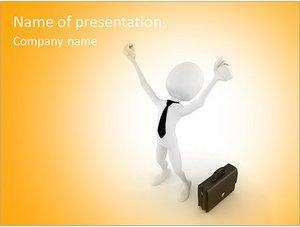 Шаблон презентации PowerPoint: Успех в бизнесе