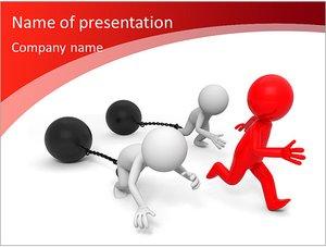 Шаблон презентации PowerPoint: Нечестная конкуренция
