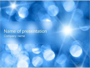 Шаблон презентации PowerPoint: Размытые пятна