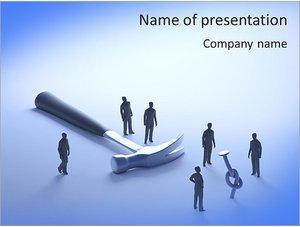 Шаблон презентации PowerPoint: Решение проблем