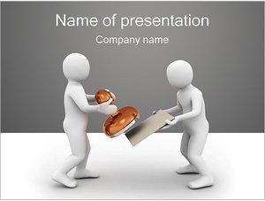 Шаблон презентации PowerPoint: Печать на документы