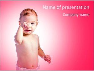 Шаблон презентации PowerPoint: Ребенок мальчик