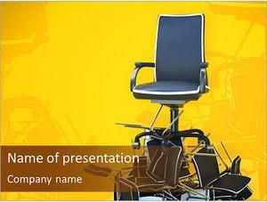 Шаблон презентации PowerPoint: Кресло начальника