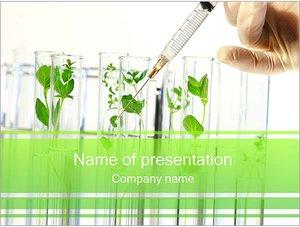 Шаблон презентации PowerPoint: Удобрение растений