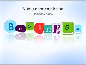 Шаблон презентации PowerPoint: Бизнес - business