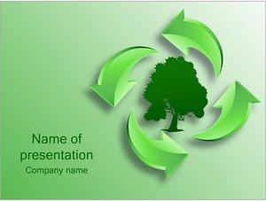Шаблон презентации PowerPoint: Дерево