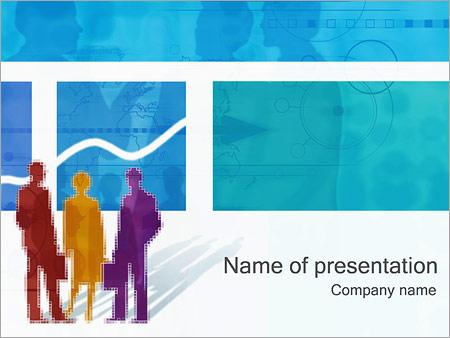 Шаблон презентации Делопроизводство - Титульный слайд
