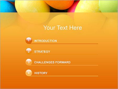 Шаблон для презентации Разноцветные яйца - Третий слайд