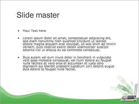 Шаблон PowerPoint Электронные письма - Второй слайд