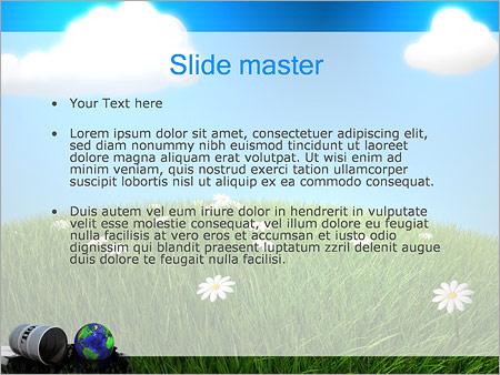 Шаблон PowerPoint Нефтяное загрязнение - Второй слайд