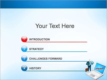 Шаблон для презентации Рост бизнеса и активов - Третий слайд