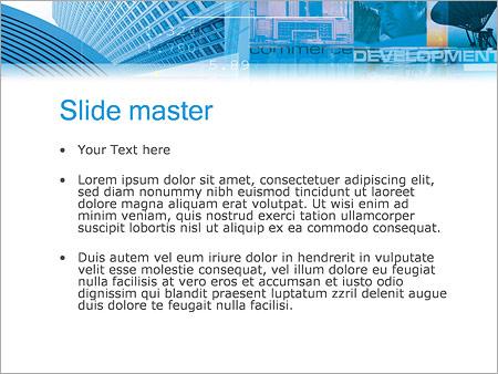 Шаблон PowerPoint Экономика - Второй слайд