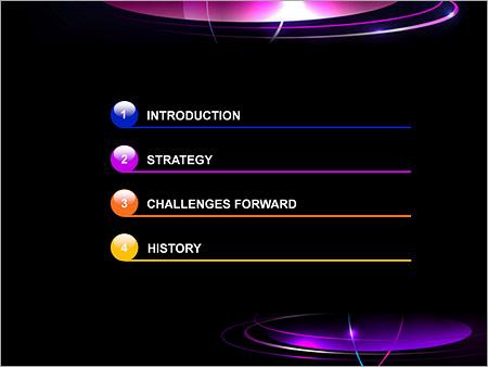 Шаблон для презентации Плоские кольца - Третий слайд