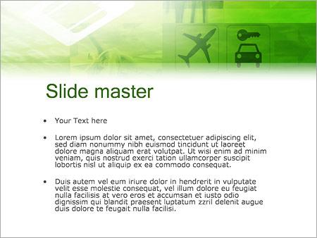 Шаблон PowerPoint Бизнес командировка - Второй слайд