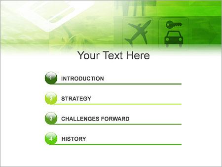 Шаблон для презентации Бизнес командировка - Третий слайд