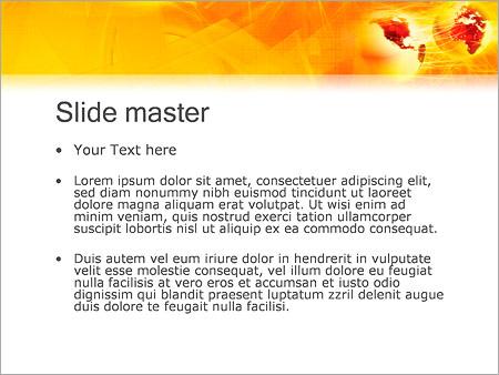 Шаблон PowerPoint Телекоммуникации - Второй слайд