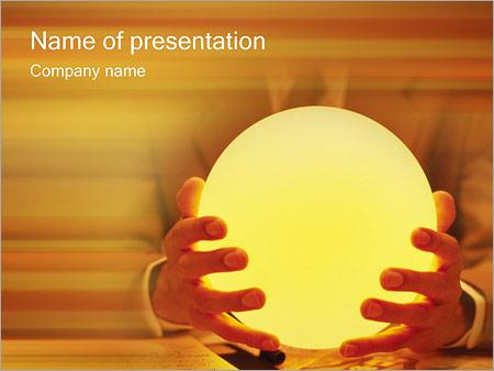 Шаблон презентации Магия и гадание - Титульный слайд