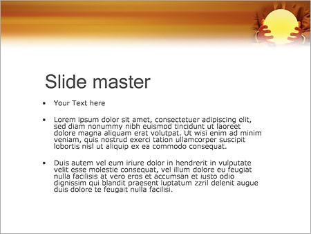 Шаблон PowerPoint Магия и гадание - Второй слайд
