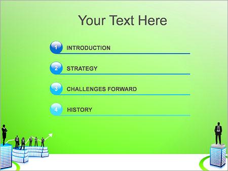 Шаблон для презентации Бизнесмены - Третий слайд