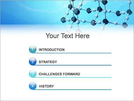 Шаблон для презентации Молекулы - Третий слайд