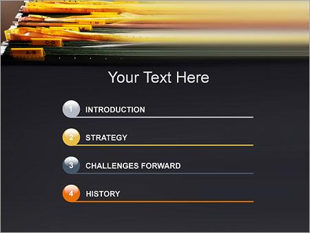 Шаблон для презентации Архив документов - Третий слайд