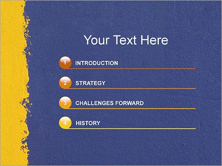 Шаблон для презентации Окрашивание стен - Третий слайд