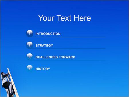 Шаблон для презентации Карьерный рост - Третий слайд