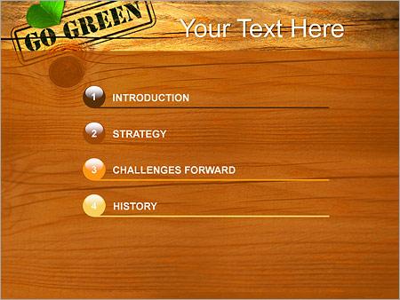 Шаблон для презентации Деревянный стол - Третий слайд