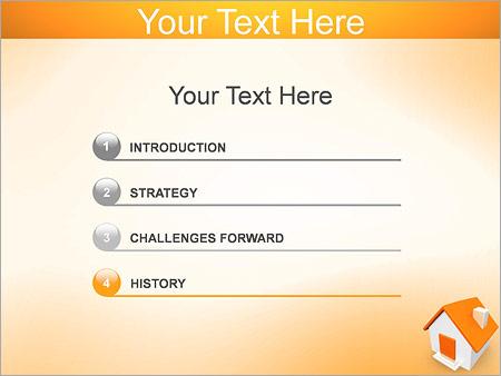 Шаблон для презентации Маленький дом - Третий слайд