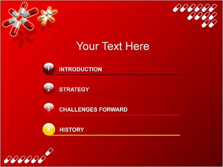 Шаблон для презентации Таблетки капсулы - Третий слайд