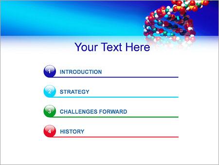 Шаблон для презентации Генетический код - Третий слайд