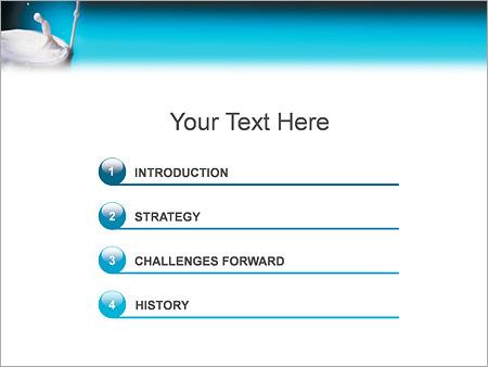 Шаблон для презентации Молоко - Третий слайд