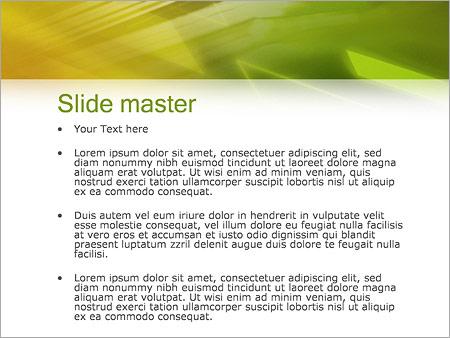 Шаблон PowerPoint Отчеты - Второй слайд