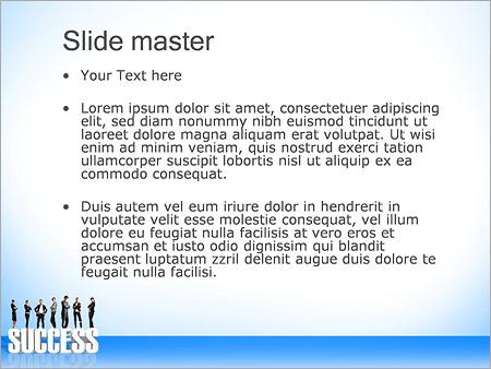 Шаблон PowerPoint Успешные бизнесмены - Второй слайд
