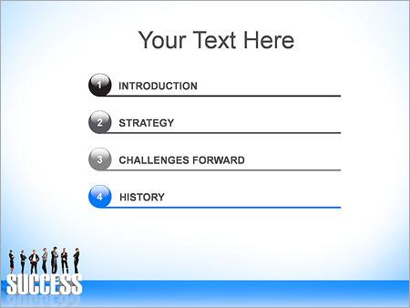 Шаблон для презентации Успешные бизнесмены - Третий слайд