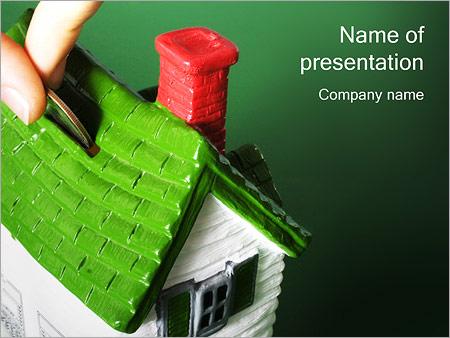 Шаблон презентации Ипотека - Титульный слайд