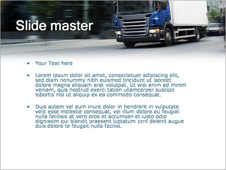 Шаблон PowerPoint Транспортные услуги - Второй слайд