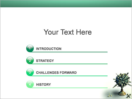 Шаблон для презентации Шахматный глобус - Третий слайд