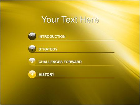 Шаблон для презентации Золото - Третий слайд