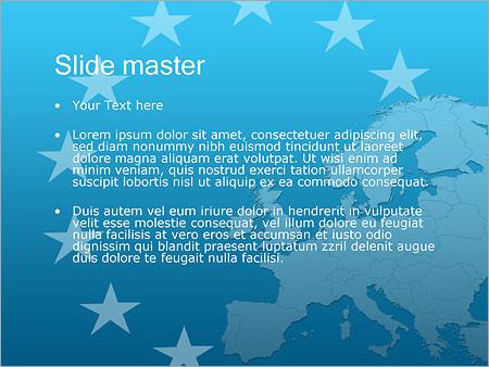 Шаблон PowerPoint Путешествие в Европу - Второй слайд