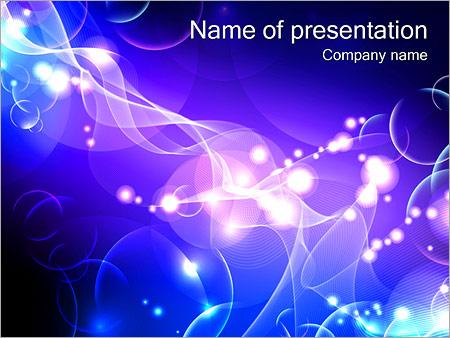 Шаблон презентации Эквалайзер - Титульный слайд