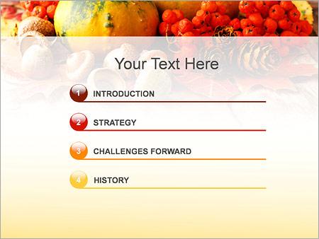 Шаблон для презентации Деревенские овощи и ягоды - Третий слайд