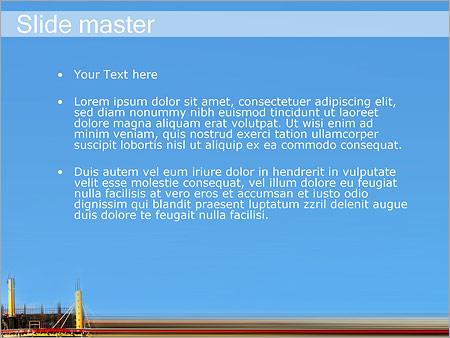 Шаблон PowerPoint Строительство - Второй слайд