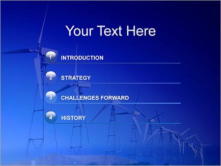 Шаблон для презентации Ветряные электростанции - Третий слайд