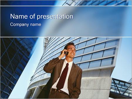 Шаблон презентации Бизнес общение - Титульный слайд
